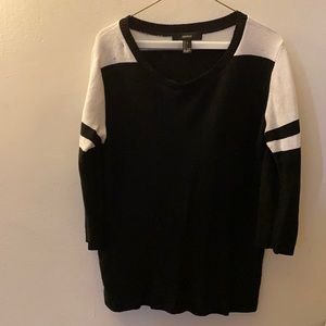 Forever 21 Jersey Style sweater